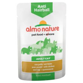 Almo Nature Anti hairball  pollo 70 gr
