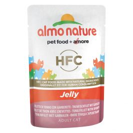 Almo Nature Classic Filetto Tonno con Gamberetti 55 gr