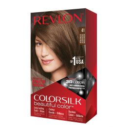 Revlon Colorsilk Colorazione Permanente Castano Medio N.41