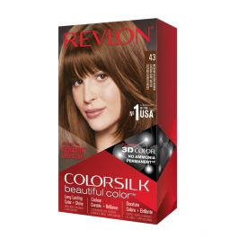 Revlon Colorsilk Colorazione Permanente Castano Dorato Medio N.43