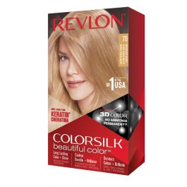 Revlon Colorsilk Colorazione Permanente Biondo Cenere Medio N.70