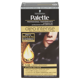 Palette Oleo Intense Colorazione Nero Intenso N.1.10