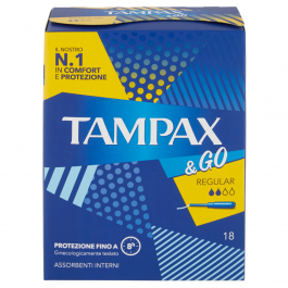 Tampax &Go Regular 18 Tamponi