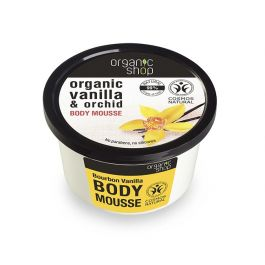 Organic Shop Body Mousse Vaniglia Bourbon 250 ml