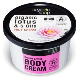 Organic Shop Indian Lotus Crema Corpo 250 ml
