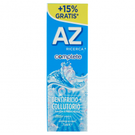 Az Ricerca Complete + Collutorio Whitening Dentifricio 75 ml