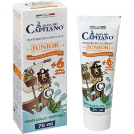 Pasta del Capitano Junior Captain +6 anni Dentifricio Menta Dolce 75ml