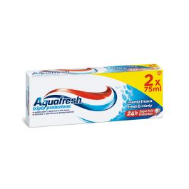 Aquafresh Fresh Mint Dentifricio 75 ml 2 Pezzi
