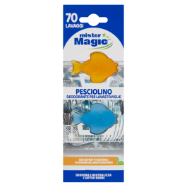 Mister Magic Pesciolino Deodorante per Lavastoviglie 6 ml