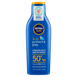 Nivea Sun Kids Latte Solare Spf 50+ 200 ml