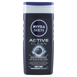 Nivea Men Active Clean Doccia Shampoo 250 ml