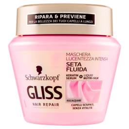 Gliss Hair Repair Seta Fluida Lucentezza Intensa Maschera 300 ml