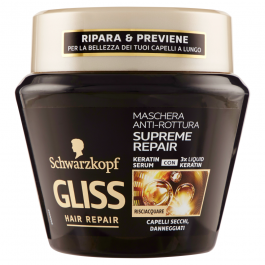 Gliss Hair Repair Supreme Repair Maschera Anti-Rottura 300 ml