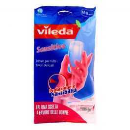 Vileda Guanti Sensitive misura M/8 Media