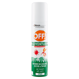 Off Adventure Insetto Repellente Spray 100 ml