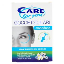 Care For You Gocce Oculari Monodose 10 X 0,5 ml