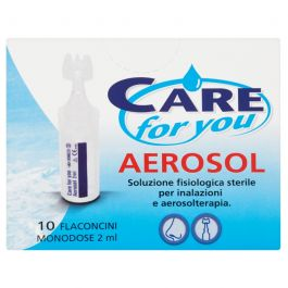 Care For You Aerosol 10 Flaconcini Monodose 2 ml