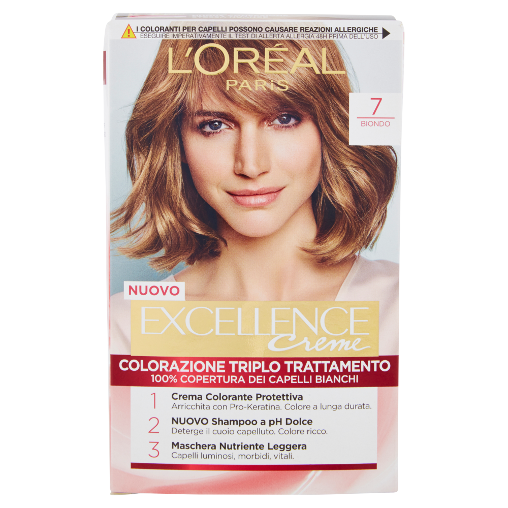 Excellence Crema Colorante Biondo N.7