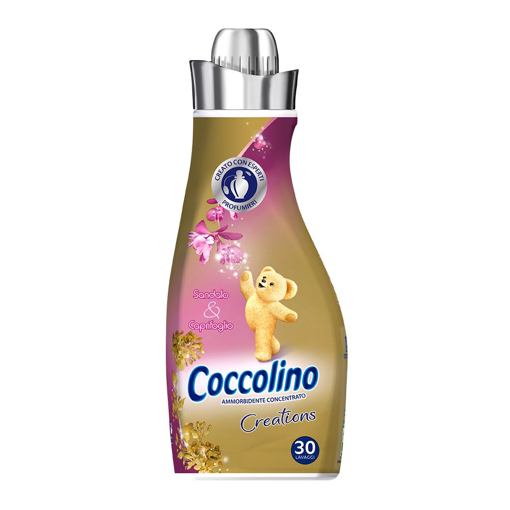 Coccolino Creations Ammorbidente Concentrato Sandalo e Caprifoglio 750 ml