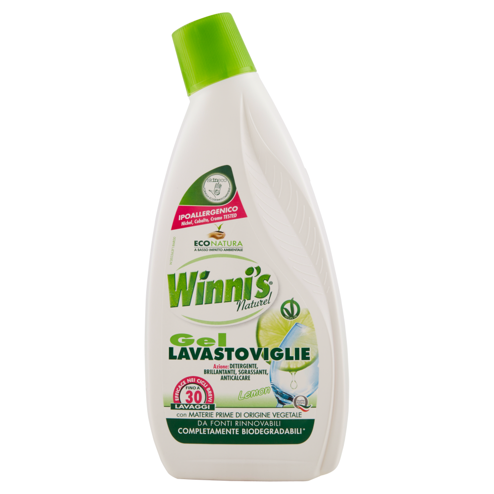 Winni's Lemon Gel Lavastoviglie 750 ml