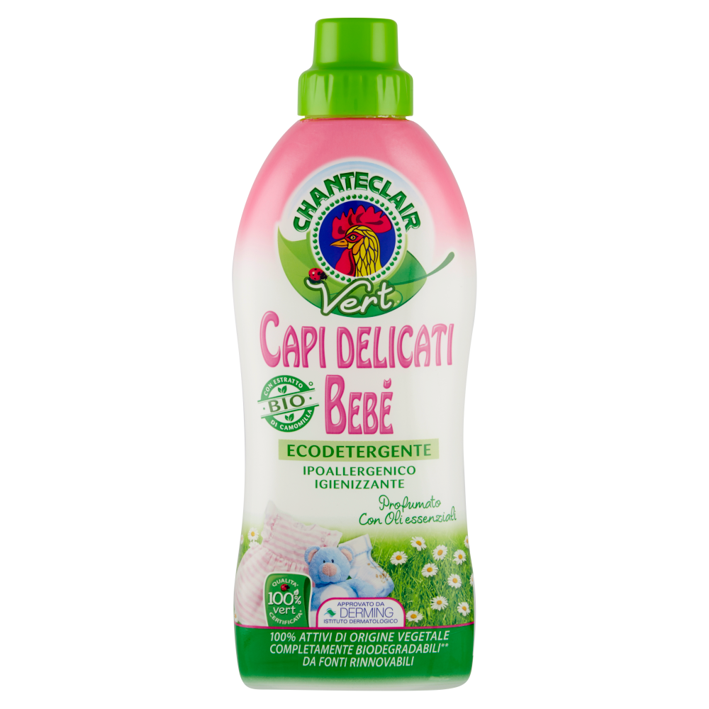 Chanteclair Vert Bebe' Detersivo 750 ml