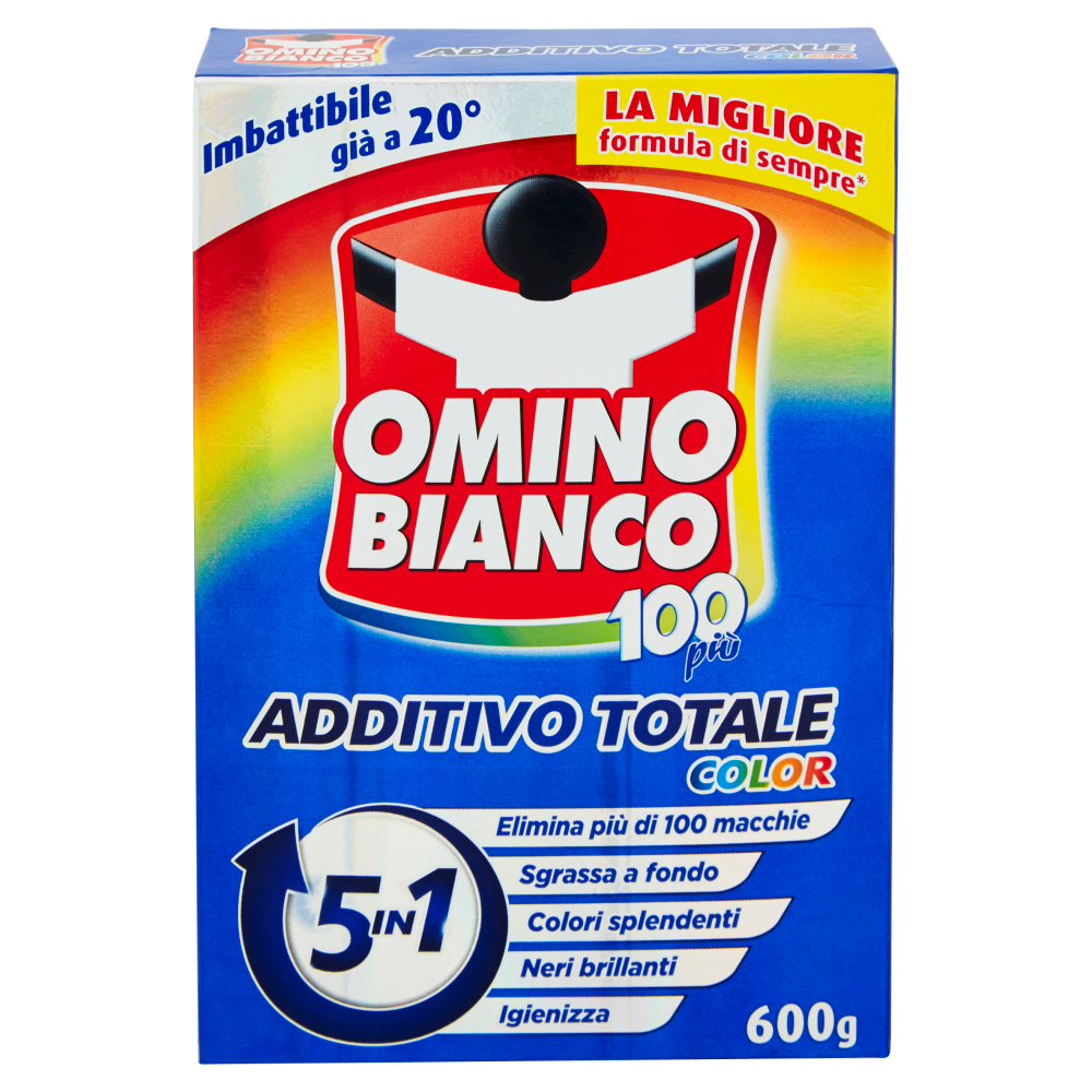 Omino Bianco 100più Additivo Totale Color 600 g
