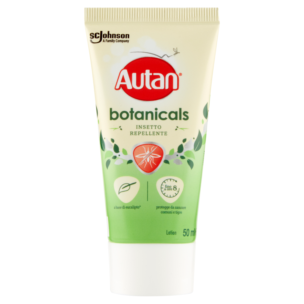 Autan botanicals Insetto Repellente Lotion 50 ml