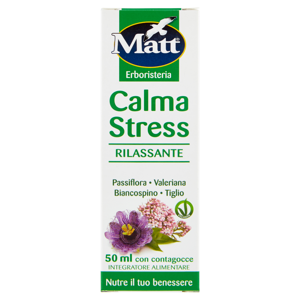 Matt Erboristeria Calma Stress 50 ml