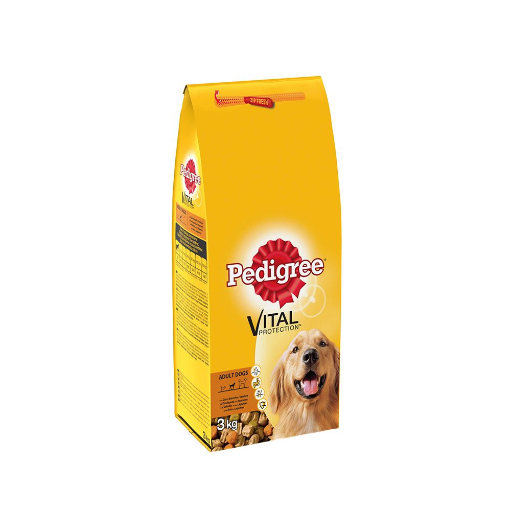 Pedigree Vital protection carni bianche verd 3 kg